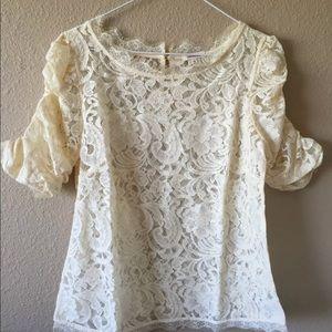 Sundance Catalog $118 S pure poetry blouse lace